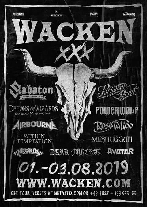Within Temptation sera au Wacken Festival l'année prochaine! Le retour du groupe approche de plus en plus, ils tourneraient des vidéos pour le futur album aux dernieres nouvelles.