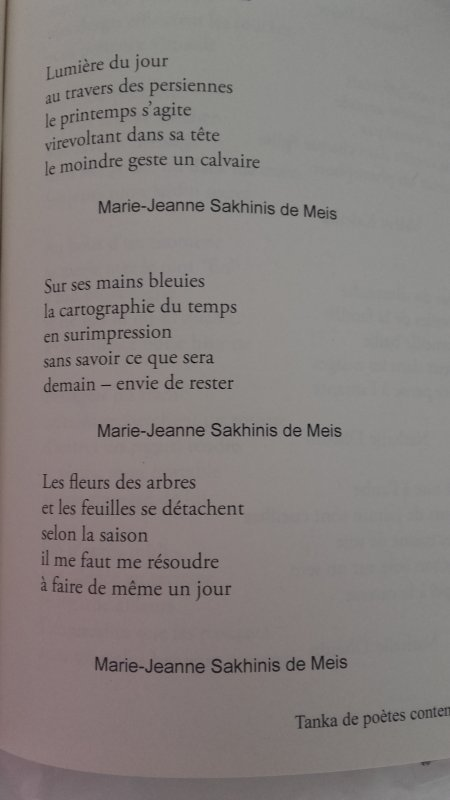 Revue du Tanka Francophone 2017
