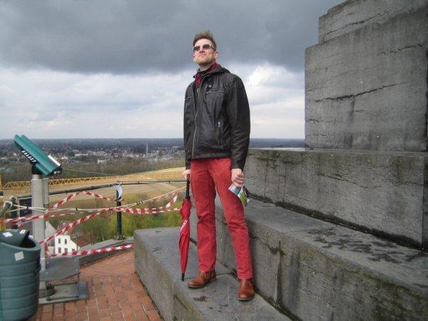 Visite de la Bute de Waterloo