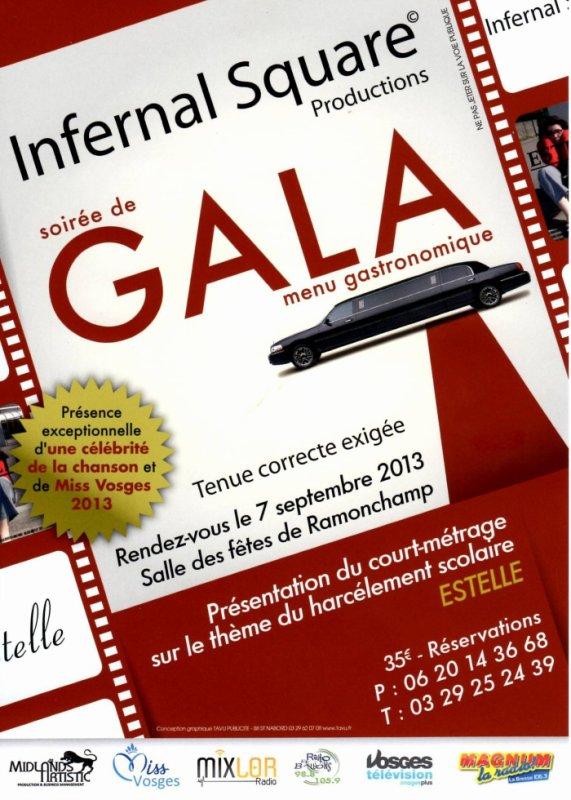 soirée de Gala dans les Vosges . Organisé par Infernal Square.
