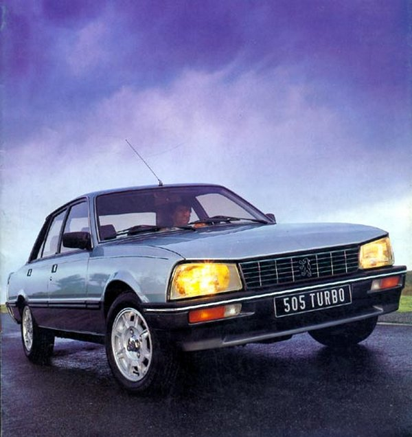 Naissance d'une icone : Peugeot 505 Turbo Injection 1982