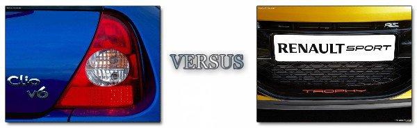 Conflit de Génération : Clio II V6 VS Mégane R.S. Cup