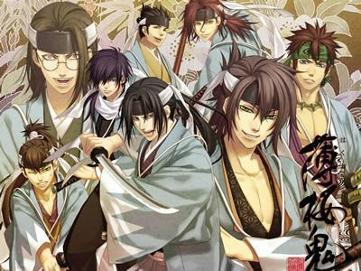 Hakuouki Shinsengumi Kitan (Saison 1)