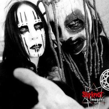 Joey Jordison et Corey Taylor