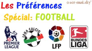 Les Préférences Spécial Football