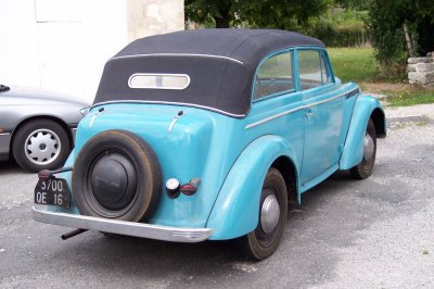 Opel Olympia 1938 (suite)