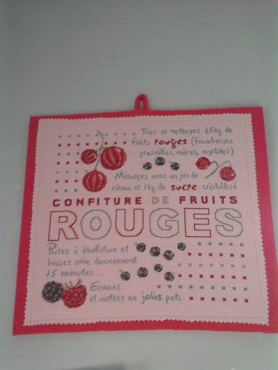 """""""lettre au galop"""" et """"confiture de fruit rouge"""" finitonner"""