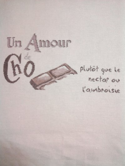 """suite de sal """"un amour de chocolat"""" de LLP"""