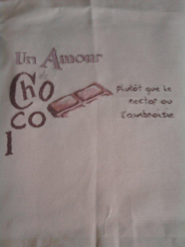 suite du sal chocolat de LLP