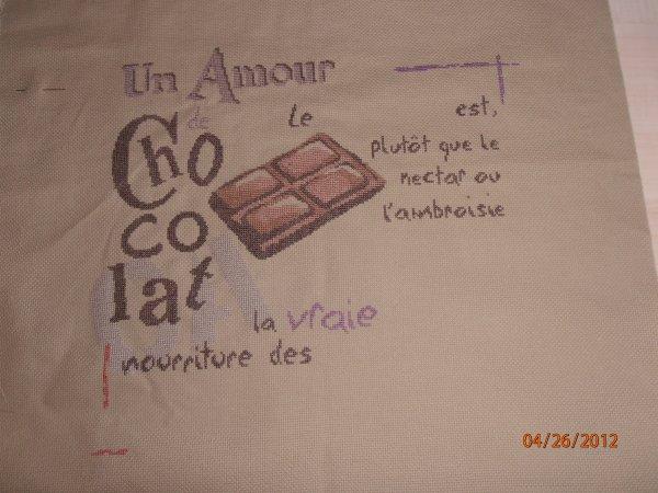 """suite du sal """"un amour de chocolat"""""""