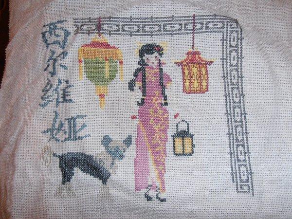 les lanternes chinoises de mon ami pierre terminer