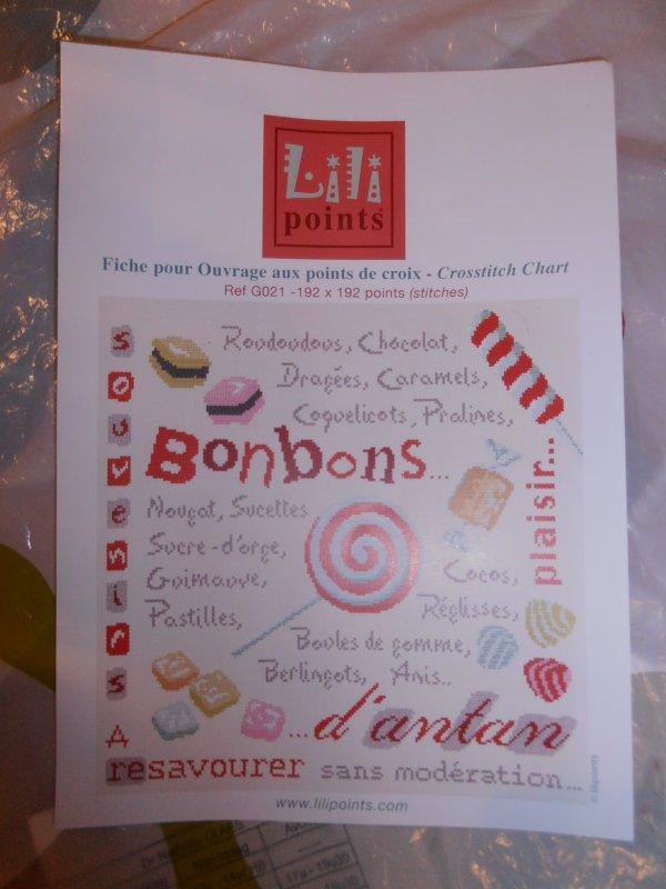 """nouveau projet de LLP """"bonbons"""""""