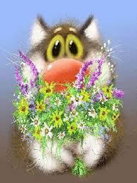 un bouquet de fleur   pour ton coeur