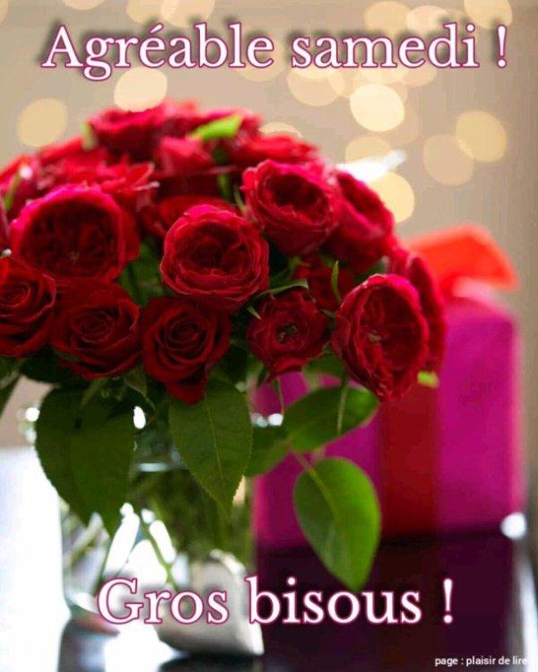 J'espère que vous allez aimer mes amis car c'est des roses de l'amour à bientôt
