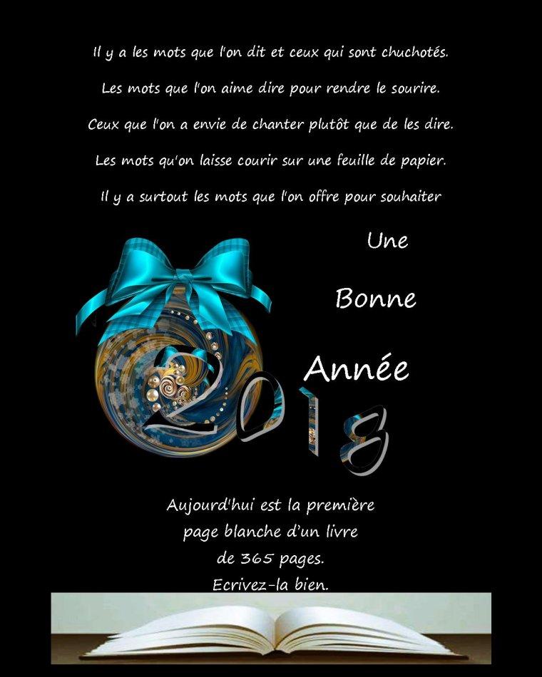 BONNE ANNÉE 201_
