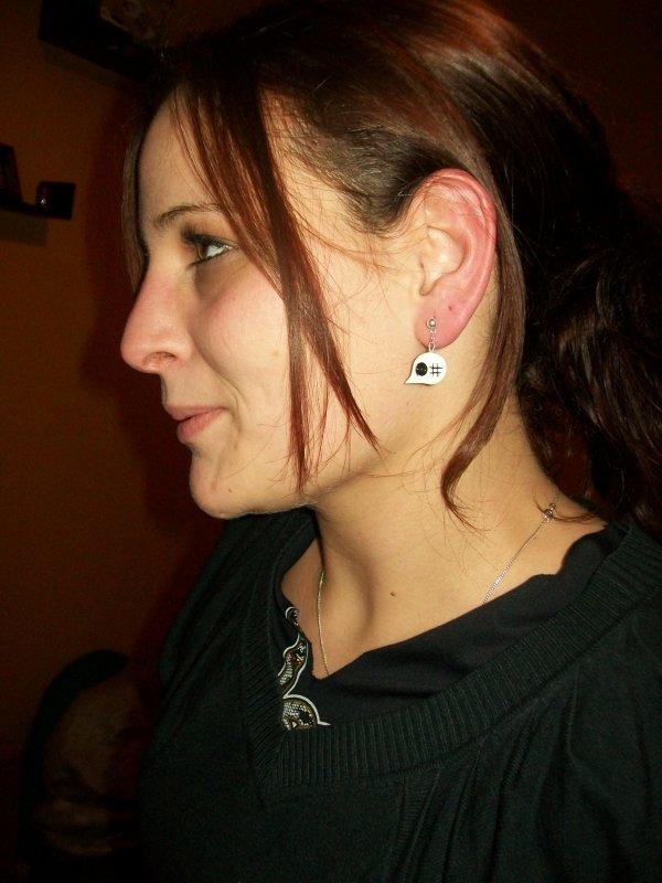"""boucles d'oreilles bulles d""""expression"""