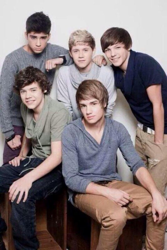 One Direction a 4 ans :-)
