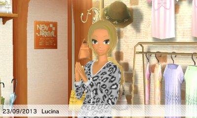 Emmie chez Lucina