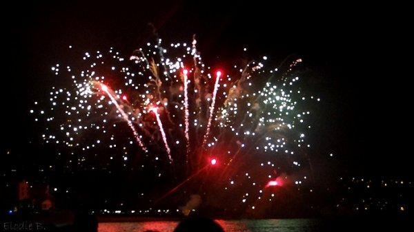 Week-end en Espagne (Blanes feux d'artifice)