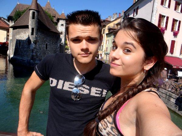 Avec le petit frère (Annecy)