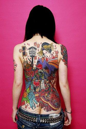 # Tatouage geisha