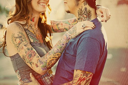 Couples tatoués ♥