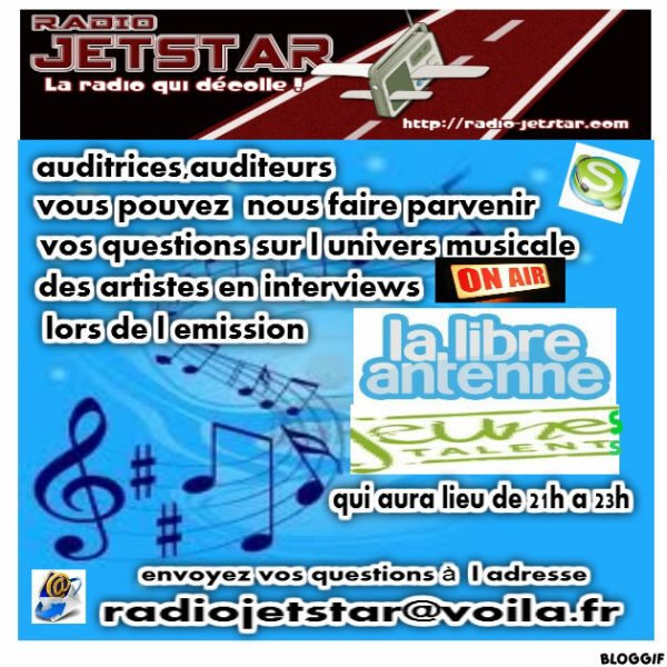 Emission libre antenne du 10/08/2012