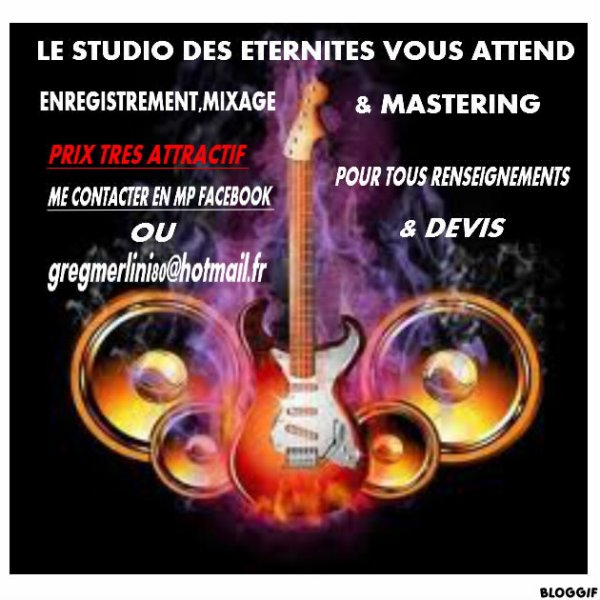STUDIO D ENREGISTREMENT GREG MERLINI
