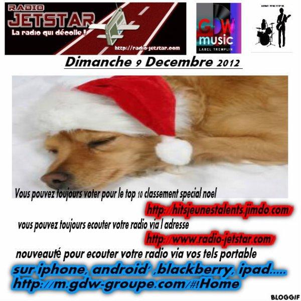 Dimanche 9 Decembre 2012