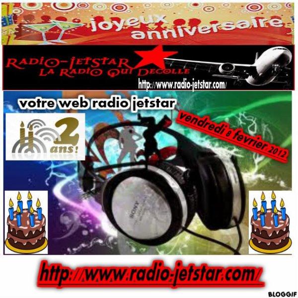 ANNIVERSAIRE RADIO JETSTAR J - 1