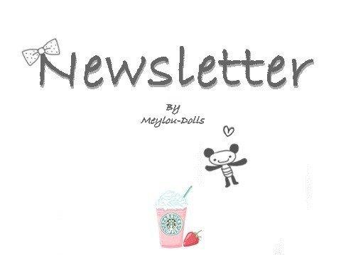 Newsletter. (places illimités)