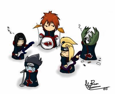 akatsuki en groupe de rock