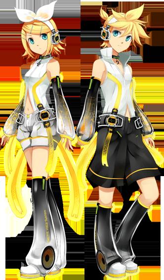 Kagamine Rin & Len Append !