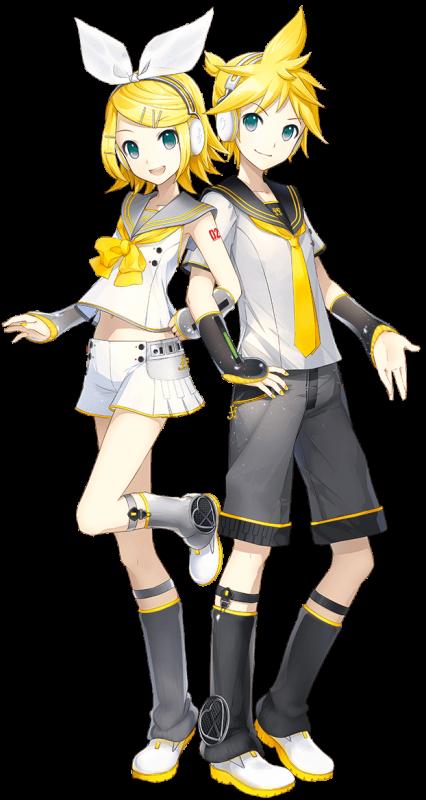 Mise à jour : Kagamine Rin & Len V4X !