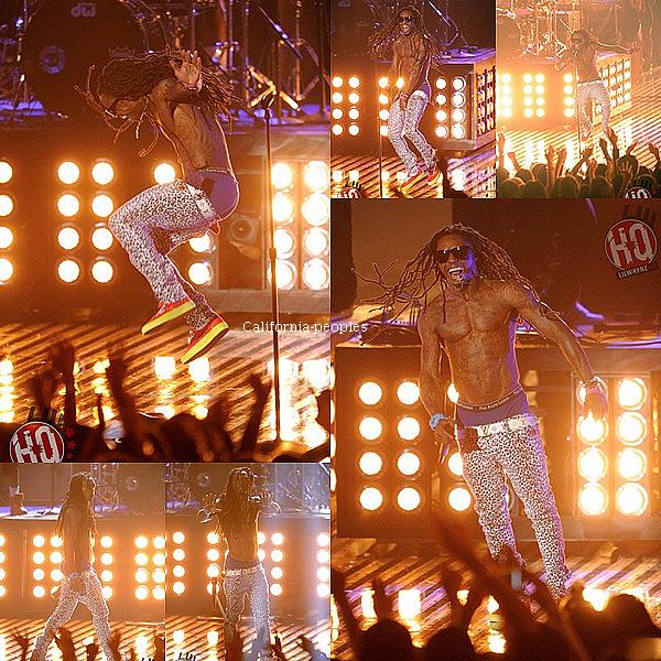 Weezy était le 28 août au MTV video music awards, il n'amalheureusement rien gagner:(