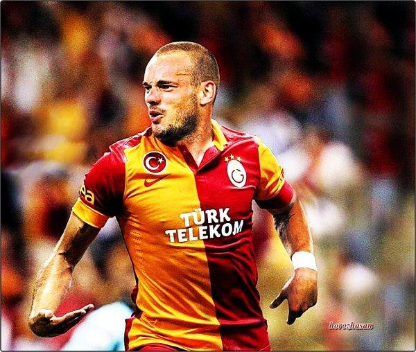 Wesley Sneijder Galatasaray'da
