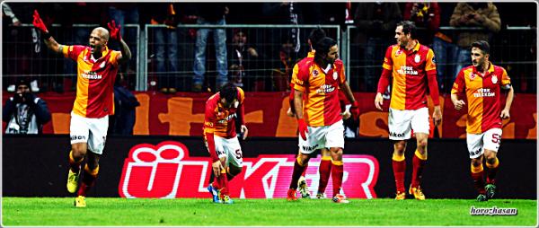 Yilin Ilk Derbisi Galatasaray'in