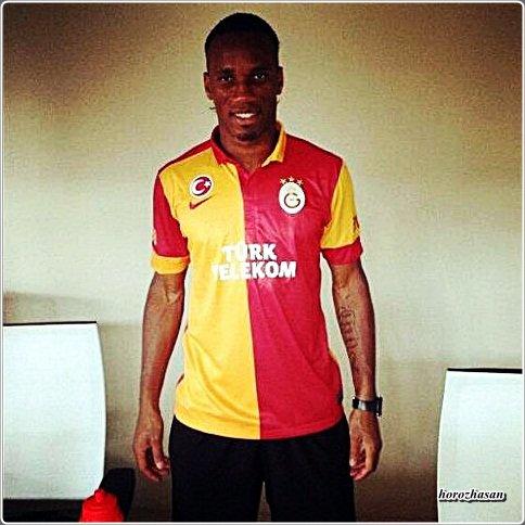 Didier Drogba Galatasaray'da