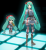 Hatsune Miku Project Diva - Le Modules (Gallia Squad 7)