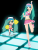 Hatsune Miku Project Diva - Le Modules (Cheer (Cheerleader))