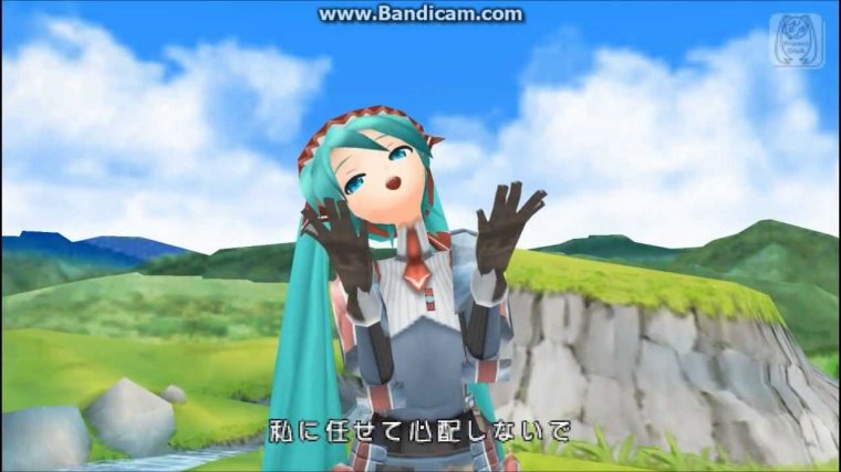 Hatsune Miku Project Diva 2nd - Song Of Wastelands, Forest And Magic (Image)