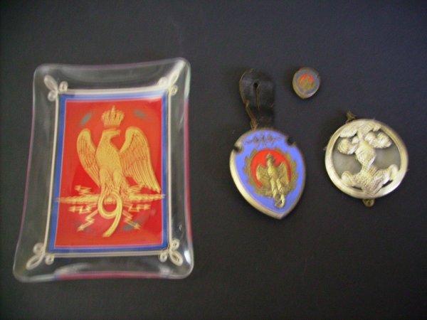 médaille 9em hussard de sourdun