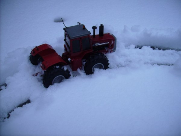la neige en haute normandie