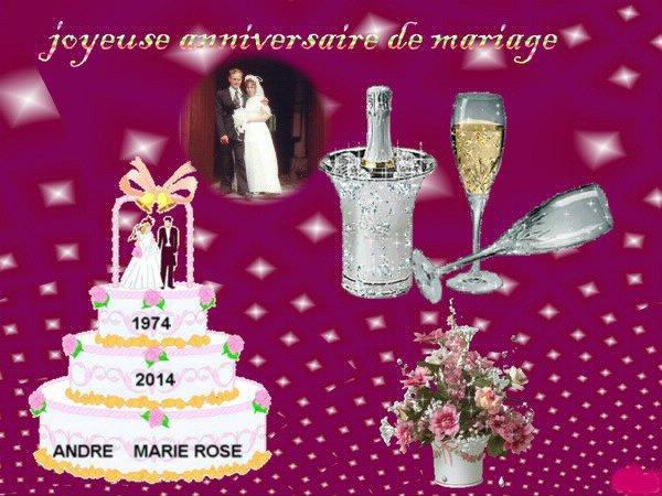 40 ANS    de mariage  sa passe     je  T'AIME ♥♥♥♥♥♥♥♥♥