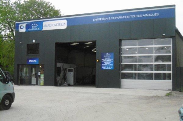 Garage de mon fils en Bretagne