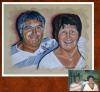 Portrait couleur Oncle et Tante