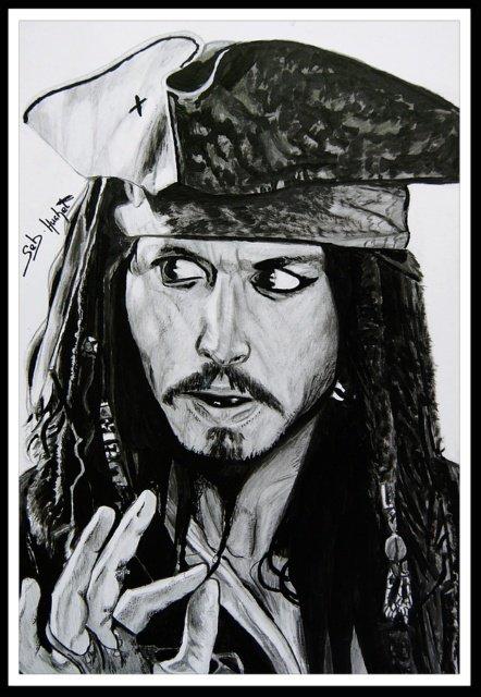 Jack Sparrow (Johnny Deep)