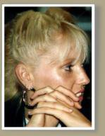 Profil d'une femme Toutankhamon