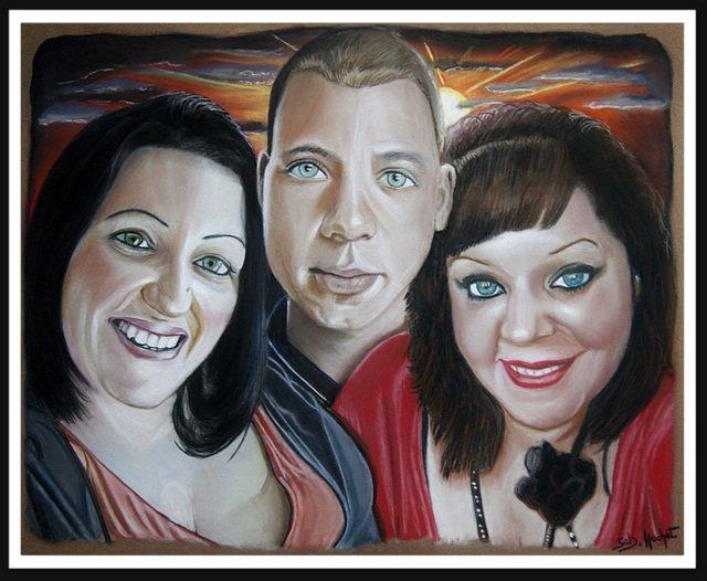 Portrait de Léa, Ornella et Emilien