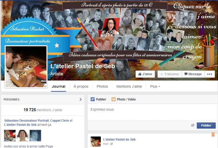 19 000 Fans sur Facebook